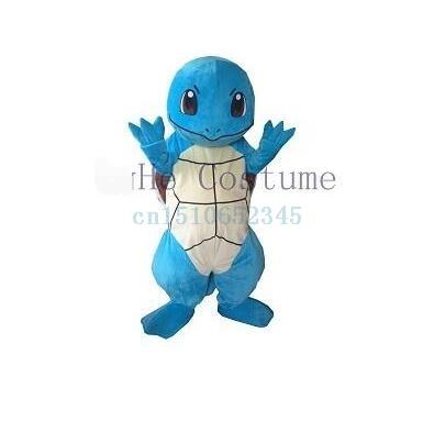 Halloween Squirtle Turtle Pokemon Go Pikachu Mascot Costume Adult