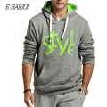E-BAIHUI brand mens  Hoodies Moleton Masculino Cotton coats Suit Men hip hops Sweatshirts Men coatsTracksuit Swag WY001