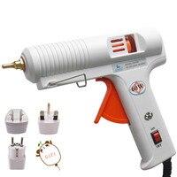 Hot Melt Glue Gun 60W Constant Temperature 100V 240V High Temp Heater Crafts Repair Tool Professional