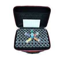 Caja de almacenamiento de diamantes nueva herramienta de pintura de diamante bordado de diamante taladro de almacenamiento bolsa con cierre Desi0gn T005
