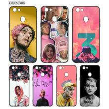 Black Silicon Soft Phone Case Lil Peep For OPPO F5 F7 F9 A5 A7 R9S R15 R17 Bag