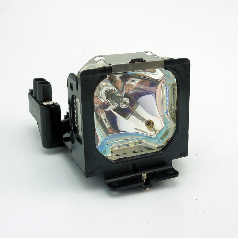 AWO Projector Lamp POA-LMP55 Compatible Replacement with Housing for Sanyo PLC-XU48 / PLC-XU50 / PLC-XU51 / PLC-XU55 Projector replacement projector lamp 610 309 2706 lmp55 for sanyo plc xl20 plc xu25 xu47 xu48 xu50 xu51 xu55 xu58 eiki xb15 xb20 projector