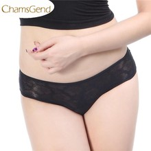 Newly Design 2015 Women Sexy Black Butterfly Underpants Lingerie Underwear Lady Drop Shipping(China)