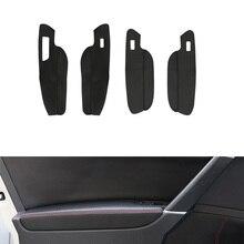 LHD Für VW Golf MK7 2014 2015 2016 2017 2018 Auto Türgriff Panel Armlehne Tür Slot Mikrofaser Leder Abdeckung 4 türen nur