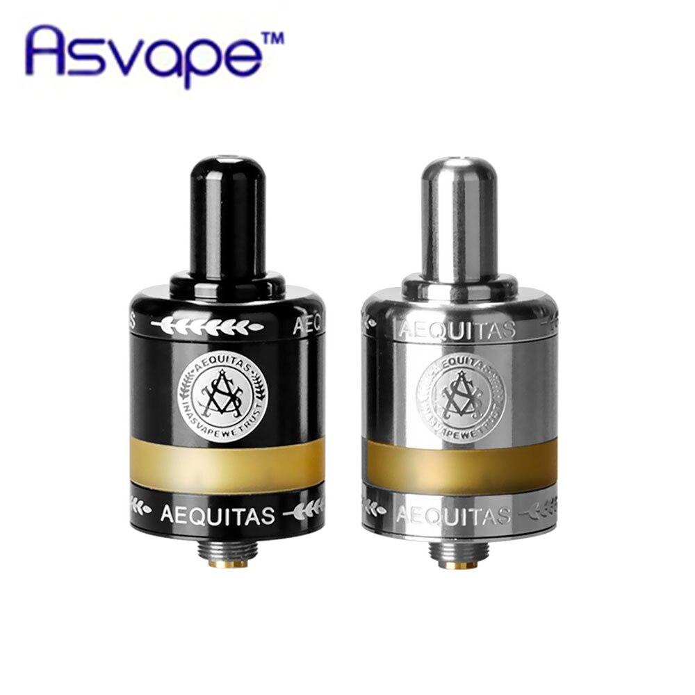 Nueva llegada Original Asvape Zeta MTL RTA atomizador 2,5 ml de gran capacidad tanque Base de cerámica cigarrillo electrónico del sirena V2