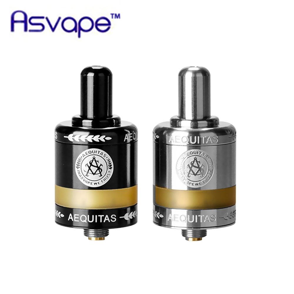Nuovo Arrivo Originale Asvape Zeta MTL RTA Atomizzatore 2.5 ml Serbatoio di Grande Capacità di Base In Ceramica Sigaretta Elettronica Vs Sirena V2