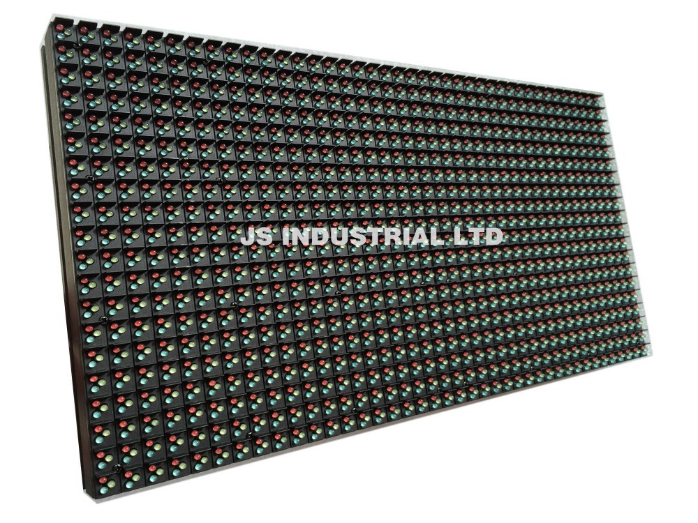P8 Outdoor DIP Full Color Led Panel Display Module - 320*160mm - suitable for rental die-casting aluminum cabinet