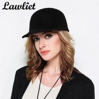 Mùa đông Mũ Bóng Chày cho Nam Giới Phụ Nữ Cô Gái Len cảm thấy Thời Trang Hip Hop Cap Plain Snapback Điều Chỉnh Cap Ngoài Trời Casual Sport Hat T282