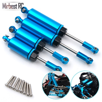 Metal front and rear shock absorbers inside spring shock absorbers  For WLtoys 12428 12429 12423 FY 03 JJRC Q39 RC cars parts|Parts & Accessories| |  -
