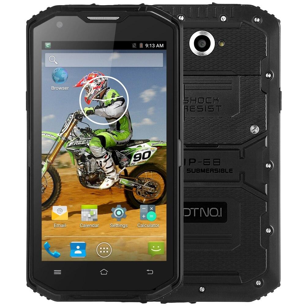 bilder für Original DTNO. I X3 4G Phablet Android 5.1 Smartphone 5,5 zoll MTK6735 Quad Core 2 GB RAM 16 GB ROM IP68 Wasserdichte Bluetooth 4,0
