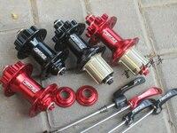 Fastace DA20 Mountain Bike Hubs 28 32 Holes 3 in 1 15mm 12 142mm Thru Axle Disc Brake Sealed Bearing MTB Bicycle Hubs