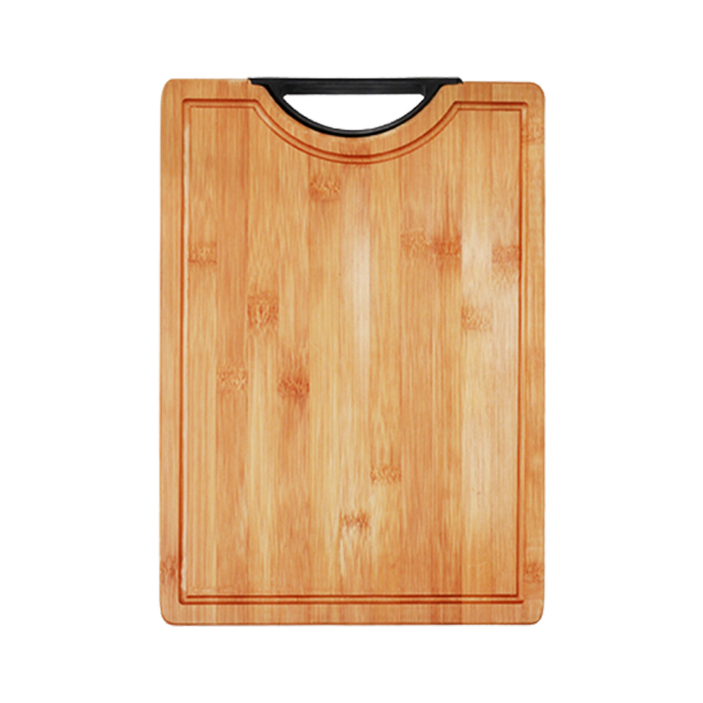 Vegetable Cooking For Meat Home Food Chopping Board Kitchen Tool Portable Practical Thick Anti Bacterial Cutting Block Bamboo(China)