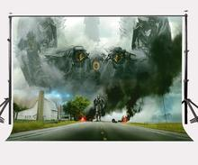 150x210cm Transformers Poster Backdrop Giant Alien Culture Disaster Scene Photography Background