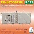 4 шт. [EB-BT530FBU] 3.8 В 6800 мАч Литий-Полимерный литий-ионный/SM-T530 TABLET PC аккумулятор для SAMSUNG Galaxy Tab4 T531 T535 T533 T537