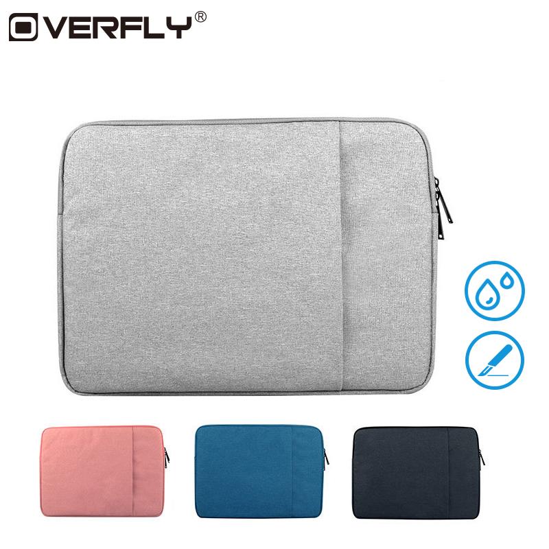 Overfly Women Men Laptop Bag Case 12 13.3 15.6 inch Notebook Bags Waterproof Sleeve Case For Macbook Air Pro Cover Reitina Air