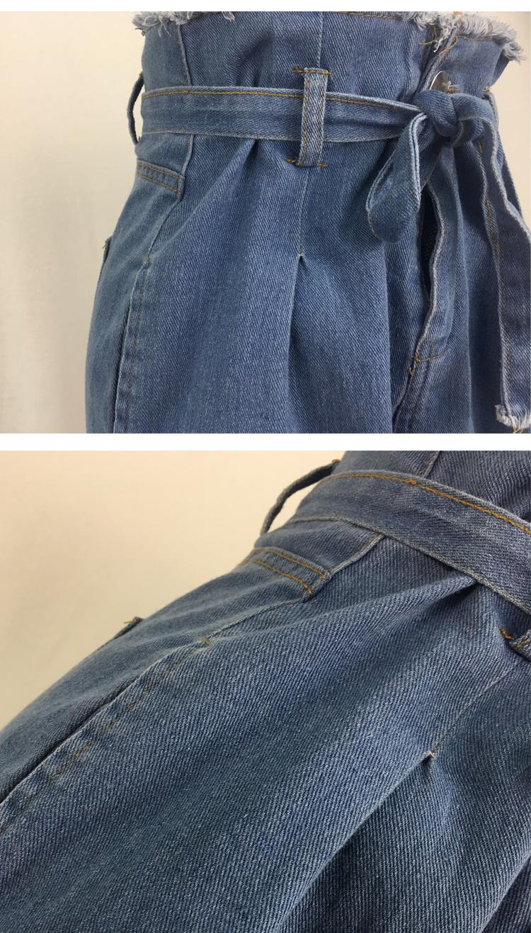 Women High Waist Jeans Sexy Jeans denim Harem Pants jeans womens High Streetwear loose Pants Black Jeans Women Plus size 8
