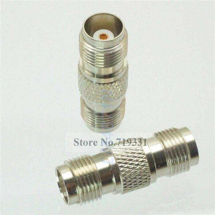 3pcs Adapter TNC female jack to TNC female jack RF connector straight F/F sf4011 60022 rf accessories tnc cap wire assy mr li