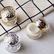 1 Uds 7g caja acrílica de crema doble botella de emulsión caja de muestra de esencia de gama alta (con protector interior) Sub embotellado al por mayor BQ234