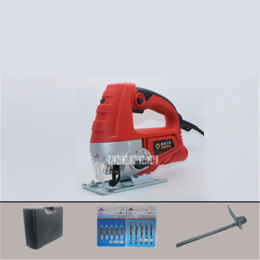 M1Q-HS1-65 New Professional Electric Curve Saw Home Multifunctional Woodworking Tools Curve Saw Pull Saws 220v 710W 0-3000r/min 30 3000r