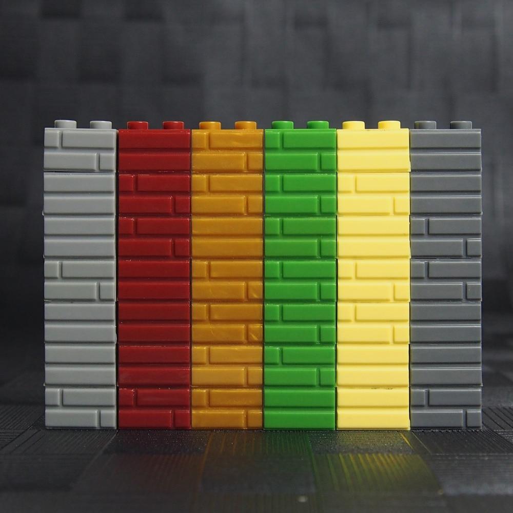 MOC City Figures building blocks wall DIY Blocks Baseplate ...