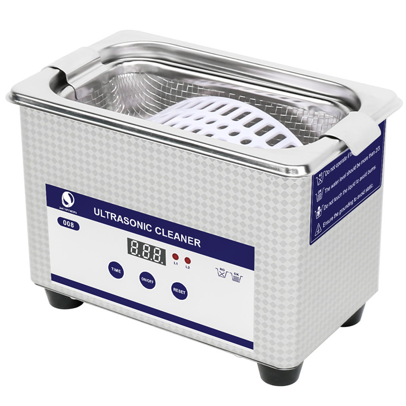 SKYMEN Mini Ultrasonic Cleaner Glasses Bath Jewelry Metal Parts Coins Dental Razor Washing Bath Ultrasound Cleaning