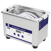 SKYMEN Mini Ultrasonic Cleaner Glasses Bath Jewelry Metal Parts Coins Dental Razor Washing Bath Ultrasound Cleaning Machine