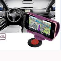 10 Adet Son Evrensel SmartPhone Araç Tutucu Standı GPS Cep Telefonu Plastik Damla Gemi Için Masaüstü Dock Şarj