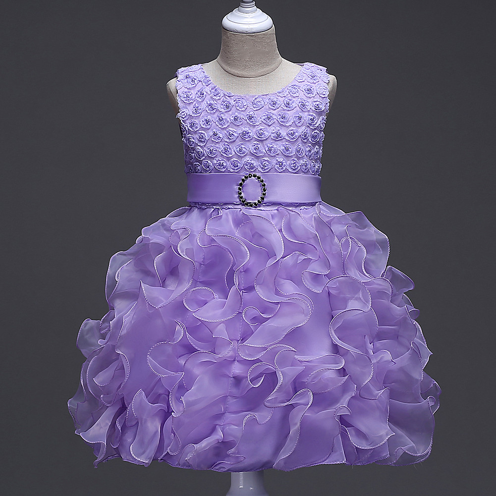 Girl   Wedding Bubble Princess   Dresses     Flower     Girl     Dresses     Dress   For Stage Performance