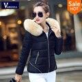 Женская бархатные куртки пальто 2016 женская мода осень зима куртка толщиной толстовка весте femme Плюс размер S-3XL casacas mujer