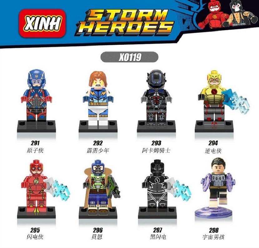 X0119 Building Blocks Super Heroes Avengers Iron Man Iron Man Patriot Blocks Bricks Assemble Bricks Children Toys