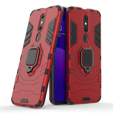 For OPPO F11 Pro Case Shockproof Armor Silm Metal Finger Ring Holder Phone Case For OPPO F11 Pro Back Cover For OPPO F11 Pro швабра topoto f11