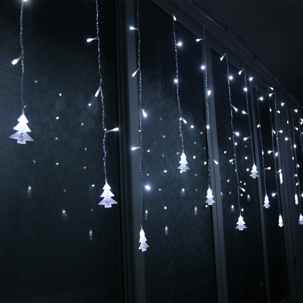 Led String Lights For Christmas Trees : 5M/3.5M led curtain christmas tree string lights led fairy lights Christmas Fairy Lights Wedding ...