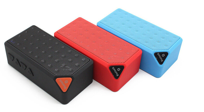 Mini Wireless altavoz Bluetooth Speaker Portable Speakers bluetooth receiver TF FM Radio Mic MP3 player Subwoofer X3