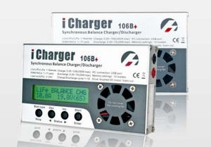 iCharger 106B+ charger for RC/MODEL/ Model Planes/model air craft 10A 250W 1-6S FAST CHARGER