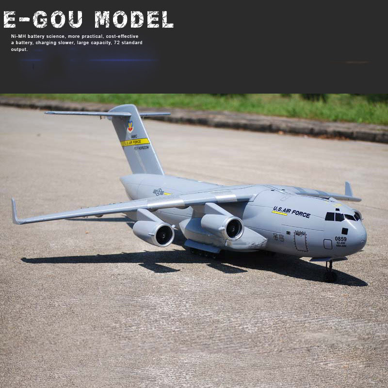 C-17 Transport Large RC Airplane UAV 1470mm Wingspan EPO Assembling Aerial Survey Aircraft DIY RC Airplane KIT RC Model image