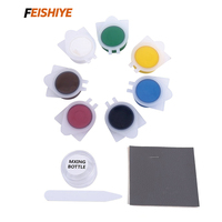 Liquid Leather And Vinyl Repair Kit For Car Leather Paint Air Dry Repairs Holes Rips Tears