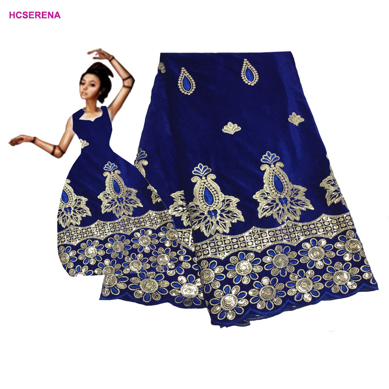 Last design africa Lace Fabrics with sequins guipure african lace fabric 2019 high quality lace for