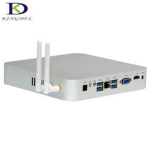Fanless Mini PC Windows 10 Intel Celeron N3150 Braswell DDR3 RAM+SSD HDMI VGA Optical COM RS232 HTPC NC630