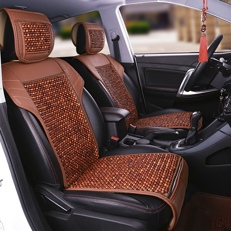 Natural wood beads comfortable breathable car cushion for Mercedes Benz GLK Class X253 GLE Class