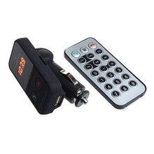 Беспроводная Связь Bluetooth Fm-передатчик Модулятор Автомобильный Комплект Mp3-плеер SD USB ЖК-ДИСПЛЕЙ
