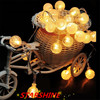 5M 30LED In Stock Crystal Bubble Balls Battery Operated String Lights Wedding Decoration Luces Decorativasfairy Lightschristma