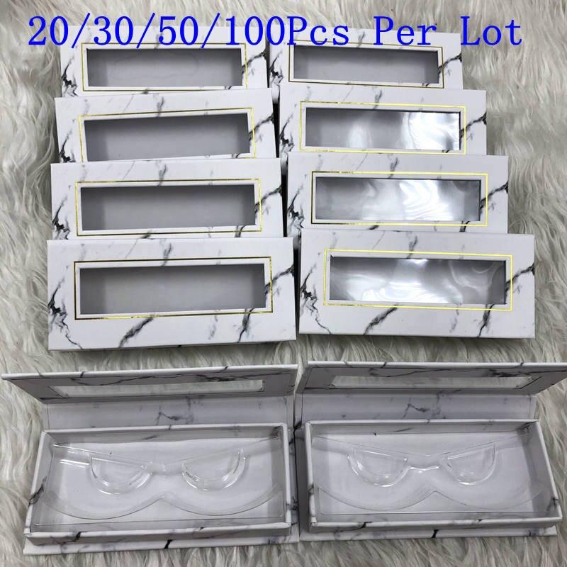 Mikiwi vente en gros carré faux Cils boîte d'emballage personnalisé votre Logo faux 3d vison Cils boîtes Cils Cils bande étui boîte vide
