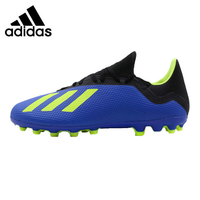 watch 20d12 10648 Original New Arrival Adidas X 18.3 AG Men's Soccer Shoes Sneakers
