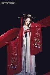 cbf3f72b0 2019 summer hanfu women chinese dress china ancient costume traditional  hanfu female dress & girl tang