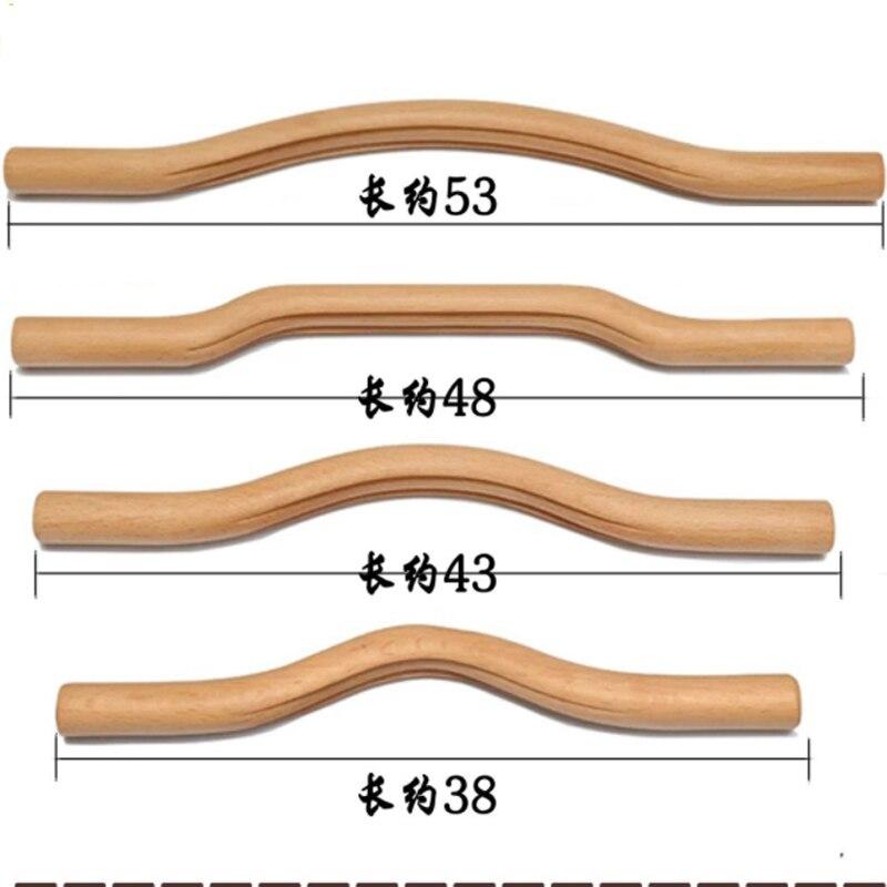 Guasha planche longue taille Gua Sha outil corps soins de santé Massage minceur mise en forme beauté bois massif santé bâtons grattage 4 pièces/ensemble