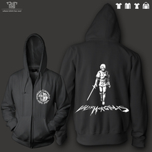 Game of thrones Arya Stark valar morghulis men unisex zip up hoodie 360gsm 82% cotton fleece inside high quality sweatershirt