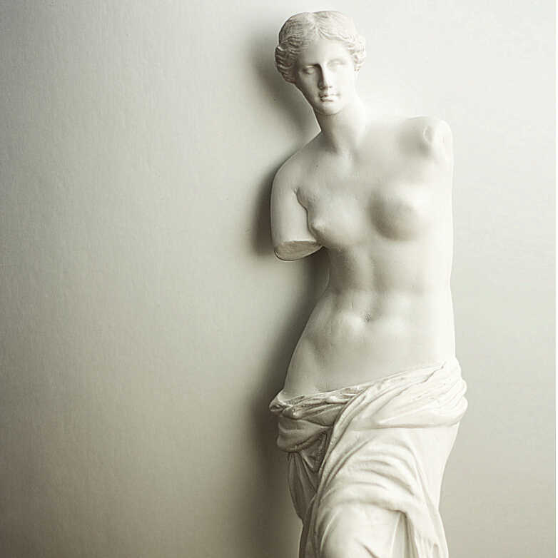 29cm Nude Venus De Milo Aphrodite Goddess Hellenistic Statue Replica Reproduction Resin Statue Non Gypsum Statue Gypsum Sketch