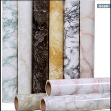 Self - adhesive marble wallpaper pvc stickers waterproof oil thickening furniture renovation wall stickers-156