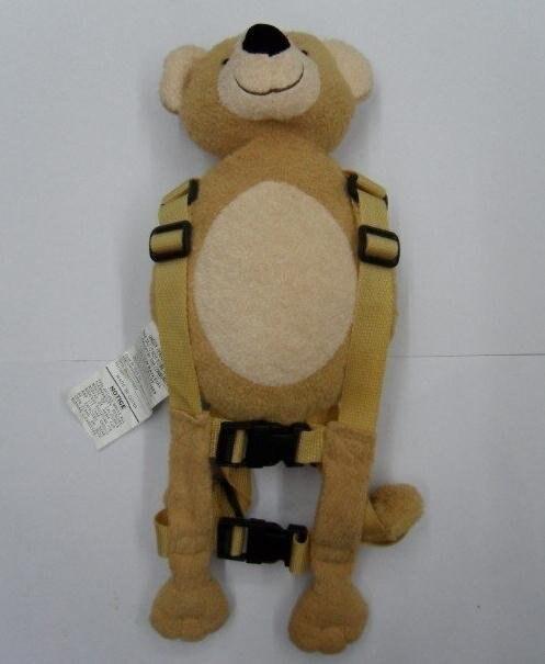 Приятель для того, чтобы держать 2-в-1 Детские накладной Рюкзак Детские поводья для От 1 до 3 лет вокруг - Цвет: Bear