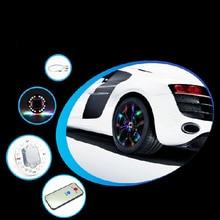 Automotive supplies wheel led automotive hub lamp solar 4pcs